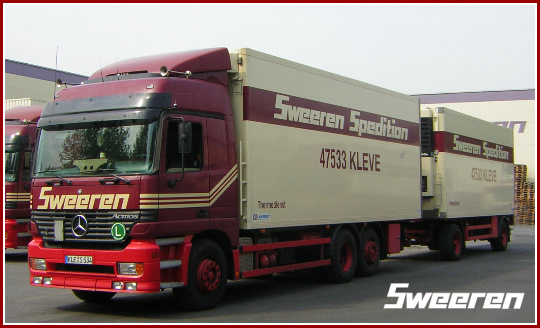 Sweeren Spedition Kleve
